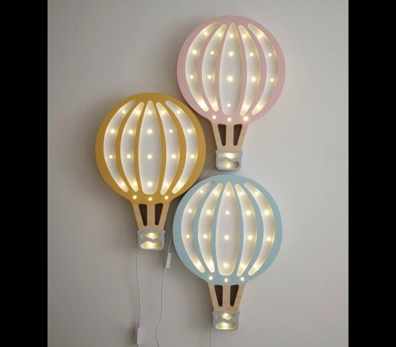 Little Lights hot air balloon - pink