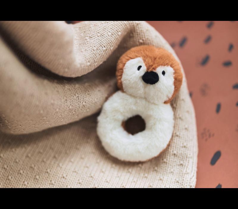 Jollein blanket teddy bliss knit nougat 75x100