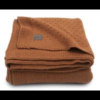 Jollein deken bliss knit caramel  75x100