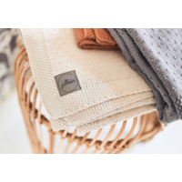 Jollein blanket bliss knit nougat 100x150