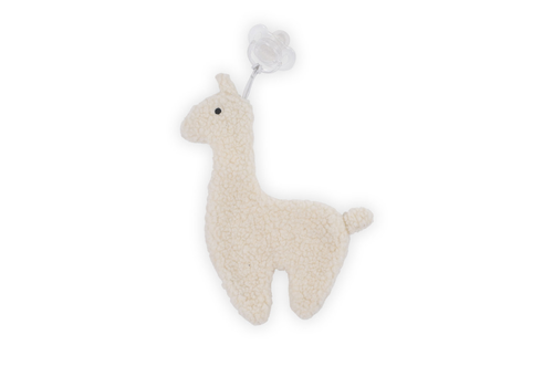 Jollein pacifier cloth lama off-white