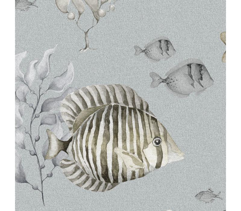 Dekornik Tapete - Bunter Fisch