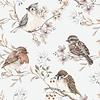 Dekornik - Birds White-Gray