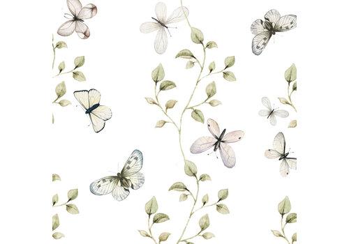 Dekornik Tapete - Schmetterlinge haben Spaß