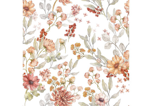 Dekornik wallpaper - Autumn Meadow White