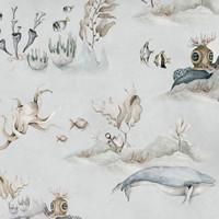 Dekornik Tapete - Underwater World Grey