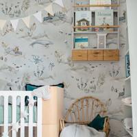 Dekornik behang - Underwater World Grey
