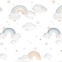 Dekornik behang - Rainbows