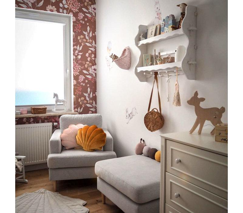 Dekornik wallpaper - Autumn Meadow Brown