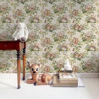 Dekornik behang - Little Sleepy Animals Light