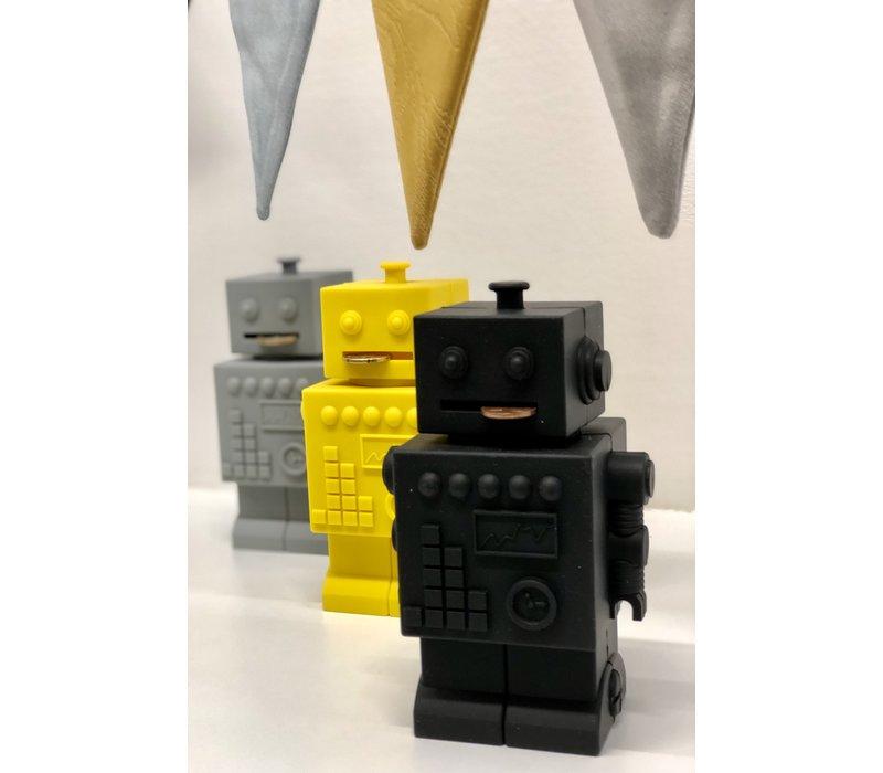 KG Design Sparschweinroboter gelb