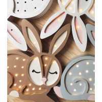 Kleine Lichter Lampe Hase Schokolade