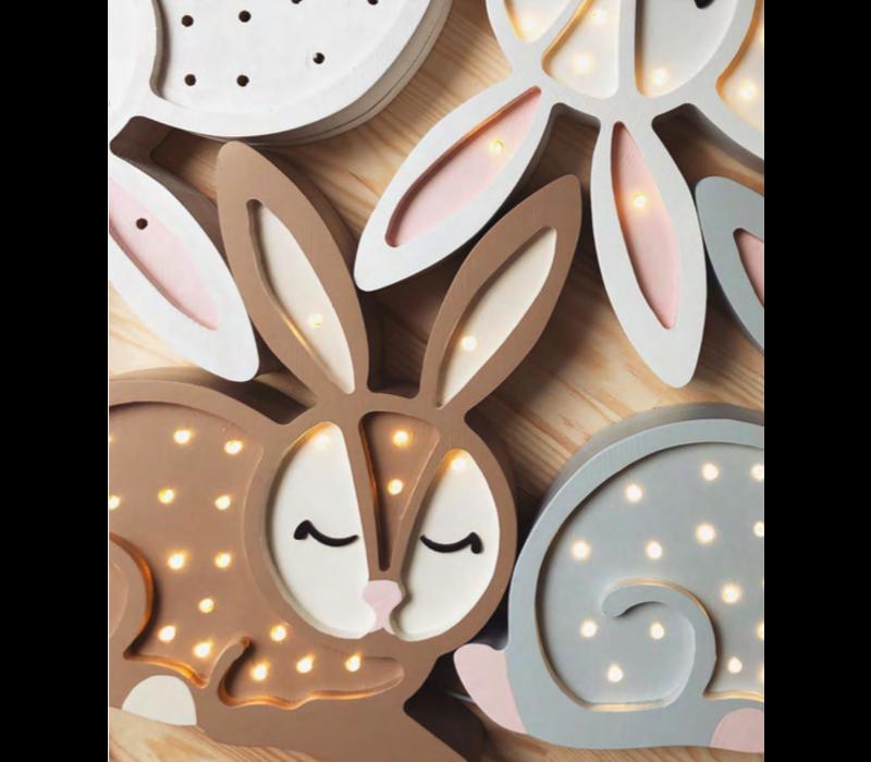 Little Lights lamp bunny Chocolate