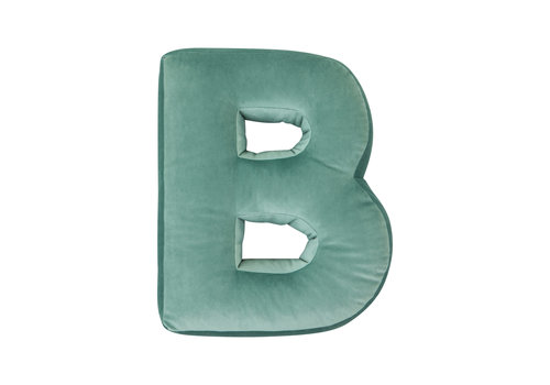 Betty's Home velvet letter - B