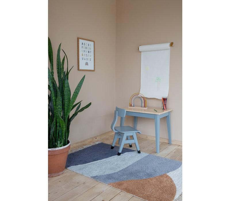 Horizon Blue carpet 130x90cm