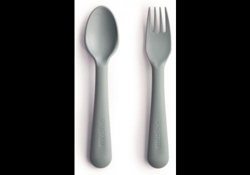 Mushie cutlery set - Sage