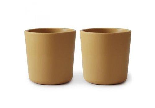 Mushie cups - Mustard