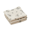 Garbo & Friends mouth cloths Bluebell 3 pieces
