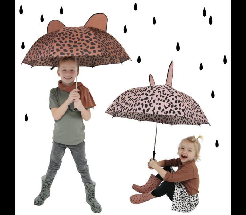 VanPauline Paraplu Pink Leopard Naam