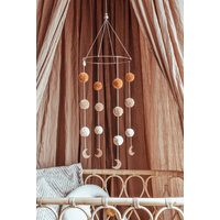 Cotton Design mobiel Pompom Moonshine