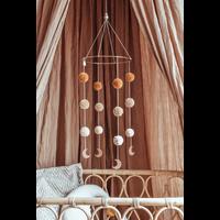 Cotton Design mobile Pompom Moonshine