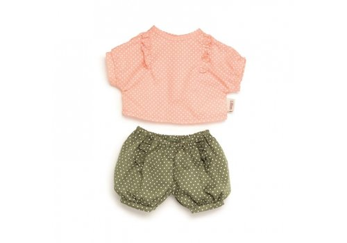 Paola Reina doll clothing set polkadot