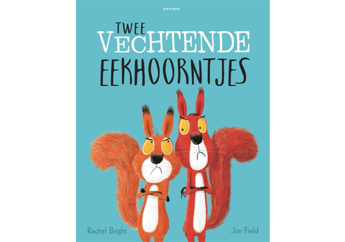 Book Two squirrels fighting