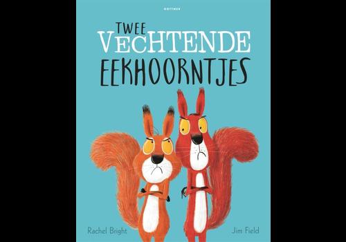 Buch Zwei Eichhörnchen kämpfen
