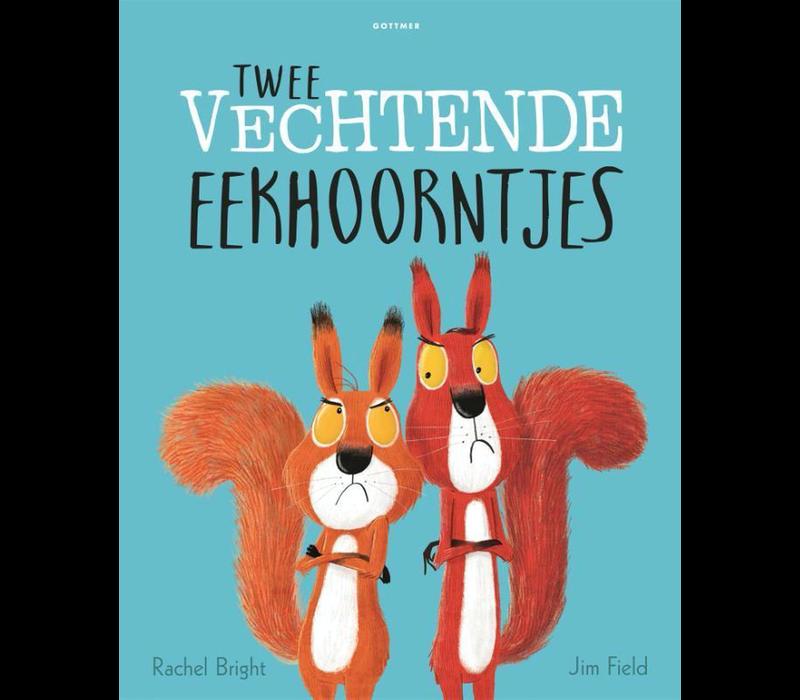 Boek Twee vechtende eekhoorntjes