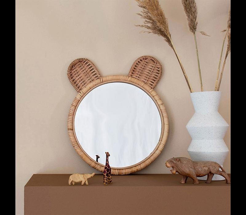 KidsDepot Minon bamboe spiegel