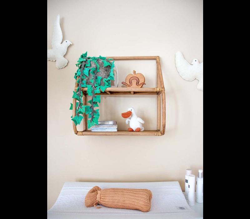 KidsDepot wall rack Mexy rattan