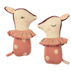 Maileg Bambi rattle Rose
