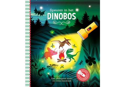 Book Searching in the dinosaur forest (torch book)