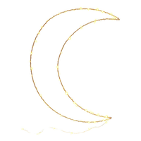 Cotton Design Moon Lamp