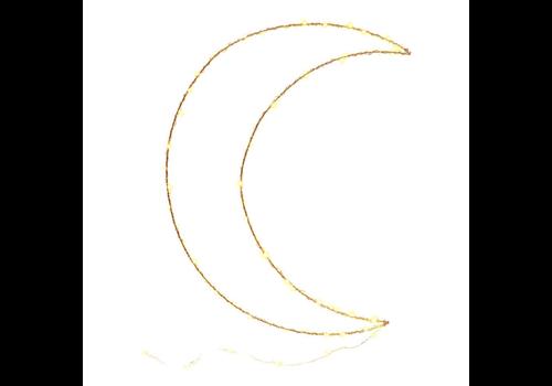 Mondlampe im Baumwolldesign