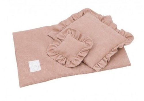 Cotton & Sweets dolls duvet Dusty Peach