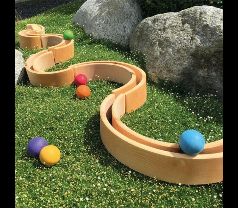 Grimm's Toy's large naturel rainbow