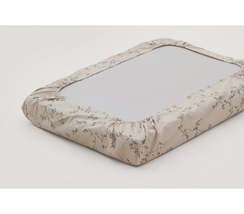 Garbo & Friends changing pad cover - Botany