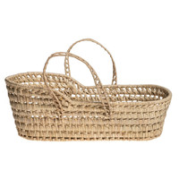 Dolls wicker moses basket large