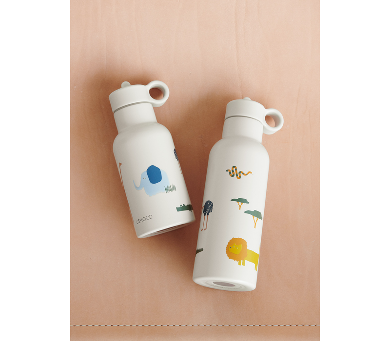 Liewood Anker water bottle Safari sandy mix