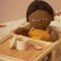 Olli Ella Dinkum poppen eetsetje