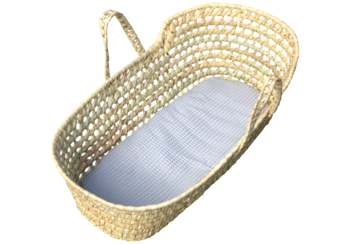 Gray mattress for Moses basket large