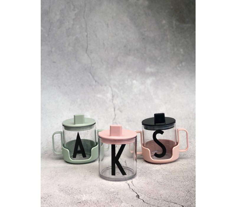 Design Letters spout pink for tritan drinking glass