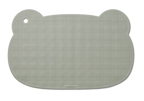 Liewood Sailor bath mat Mr Bear dove blue
