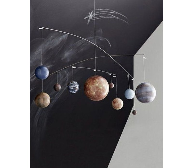 Authentic Models Mobile planets solar system