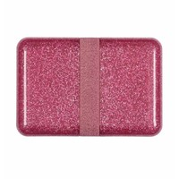 A Little Lovely Company Lunchbox Glitter pink