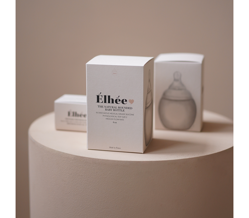 Elhee baby fles Blue Grey - 240ml
