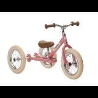 Trybike steel vintage pink driewieler