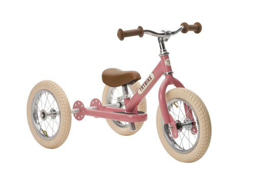 Trybike steel vintage pink tricycle