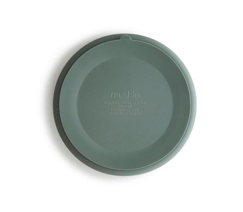 Mushie siliconen bord met zuignap - Cambridge Blue